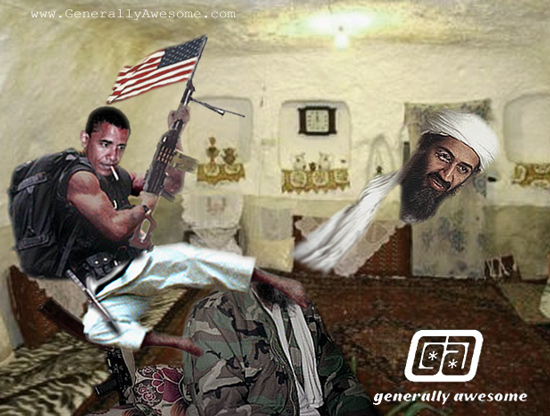 Bin Laden gets taken out in a raid in Pakistan.  Here is the secret truth about what really happened!